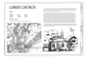 Cover Sheet - Christ Church, 2304 Highway 17 North, Mount Pleasant, Charleston County, SC HABS SC-877 (sheet 1 of 11).png