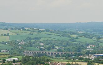Craigmore Viaduct - Craigmore Viaduct aka 18 Arches pictured from Bernish Viewpoint, Newry