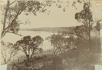 Matilda Bay - Crawley Bay in the 1890s
