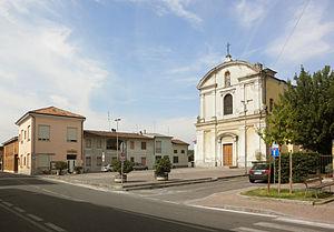 Crespiatica - Image: Crespiatica piazza