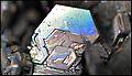 Cristal Carborandum, Carborundum, Moissanite artificielle FL GLAM MHNL 08.JPG