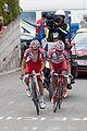 Critérium du Dauphiné 2014 - Etape 7 - Deux échappés à Finhaut.jpg