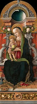 Crivelli Madonna and Child Enthroned with a Donor.jpg