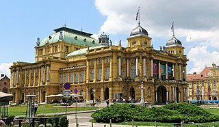 Croatian National Theatre in Zagreb opera house in Zagreb, Croatia