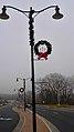 Cross Plains Pole Mounted Christmas wreaths - panoramio (5).jpg