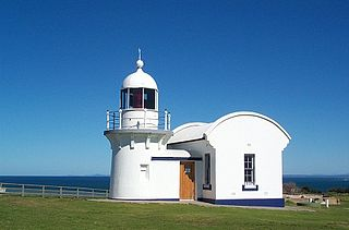 Crowdy Head Light lighthouse in New South Wales, Australia