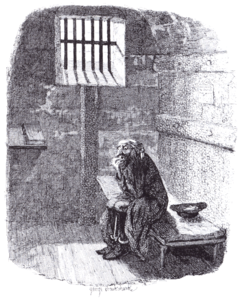 Cruikshank - Fagin in the condemned Cell (Oliver Twist).png