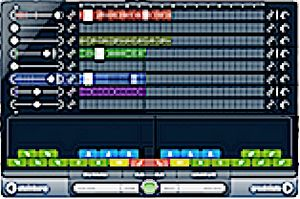 Audio sequencer - A typical loop-based music software (Cubase 6 LoopMash 2)