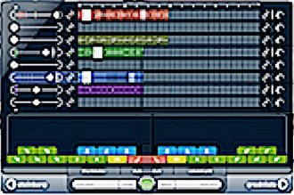 Music sequencer - A typical loop-based music software (Cubase 6 LoopMash 2)