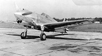 Curtiss P-36 Hawk - Curtiss XP-42 (USAF Photo)