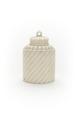 Cylindrisk, flaskformad dosa med skruvlock, av elfenben - Skoklosters slott - 92182.tif