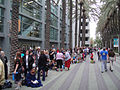 D23 Expo 2011 - lining up as far as you can see for D23 (6075259969).jpg