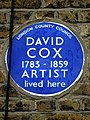 DAVID COX 1783-1859 ARTIST lived here.jpg
