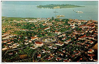 Bissau - View of Bissau in the 1960s as the capital of Portuguese Guinea