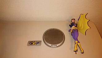 DC Comics Bombshells - Batgirl, Second Batch, three separate pieces