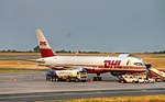 DHL Air UK - G-BIKK - Boeing 757-200 - Airport Budapest (9433-35).jpg