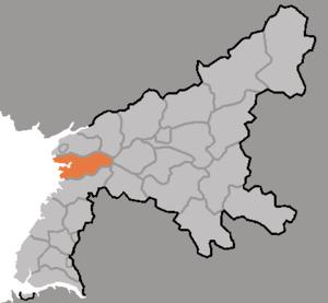 Sukchon County - Image: DPRK2006 Pyongnam Sukchon