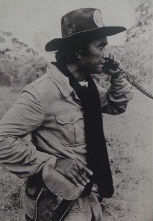 Dading Kalbuadi - Dading Kalbuadi in East Timor during Operation Seroja