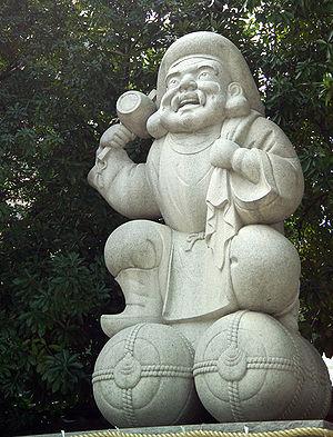 Kanda Shrine - Image: Daikoku 8727