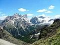 Dalla Forcia Neigra ,Marmolada e Cime di Ombrettola - panoramio.jpg