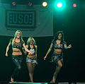 Dallas Cowboys Cheerleaders Performance - U.S. Army Garrison Humphreys, South Korea - 21 December 2011 (6558359721).jpg