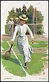 Dame spiller tennis, ca 1900.jpg