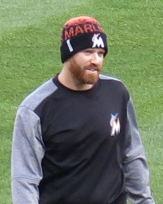 Dan Straily - Straily with the Marlins in 2017