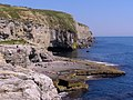 Dancing Ledge from the west - geograph.org.uk - 1025258.jpg