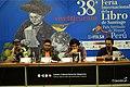 Daniel Rojas Pachas en FILSA 2018 presentando su novela RANCOR.jpg