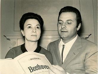 Daniele Barioni - Image: Daniele Barioni & Vera Franceschi circa 1962