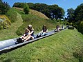 Dartmouth , Woodlands Theme Park, Toboggan Runs - geograph.org.uk - 1217533.jpg