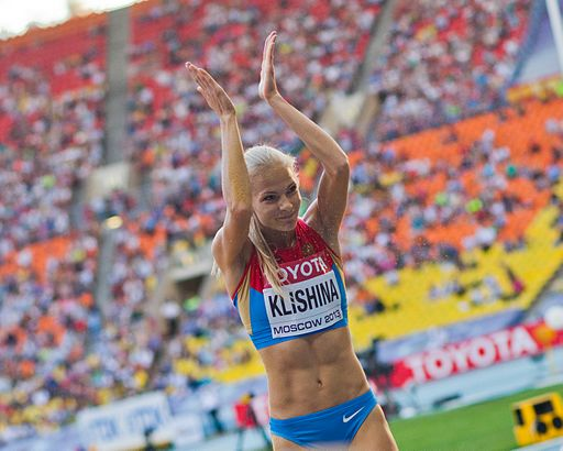 Darya Klishina (2013 World Championships in Athletics)