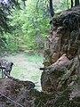 Das Betreten des Steinbruches ist gefährlich - panoramio.jpg