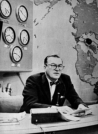 Today (U.S. TV program) - Dave Garroway, the program's first host, on the air