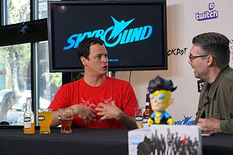 Skybound Entertainment - Skybound CEO, David Alpert, at Skybound's Live Stream during 2016 San Diego Comic Con