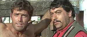 David Bailey with Tito Garcia in Seven Guns for the MacGregors, 1967.jpg