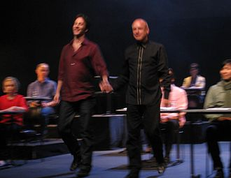 Sum: Forty Tales from the Afterlives - David Eagleman and Brian Eno performing Sum at the Sydney Opera House, June 6, 2009.