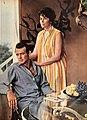 David Janssen and Ellie Graham 1960.jpg