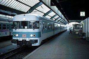 DB Class VT 24 - A class 624 at Oldenburg main station