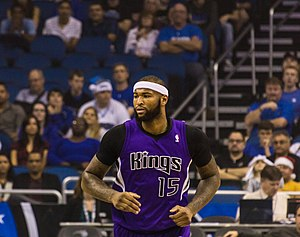 DeMarcus Cousins - Cousins with the Kings in December 2013