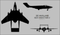 De Havilland Sea Vixen FAW.2 three-view silhouette.png