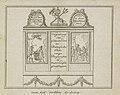 Decoratie in de Beurssteeg, 1795 van het rokkin te zien (titel op object), BI-B-FM-099-15.jpg