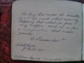 Dedication by Nellie Hall in WSPU prisoners scrapbook.png