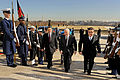 Defense.gov News Photo 110223-D-WQ296-003 - Secretary of Defense Robert M. Gates 2nd from right escorts Afghan Minister of the Interior Bismullah Mohammadi 3rd from right and Defense Minister.jpg