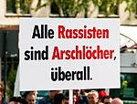 Demo Köln stellt sich quer Mai 2009 - Schild -Alle Rassisten sind Arschlöcher, überall-8448.jpg