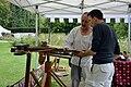Demonstrating archery, Arundel Castle.jpg