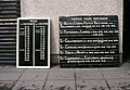 Departure board, Portrush station - geograph.org.uk - 1670972.jpg