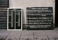Departure board, Portrush station - geograph.org.uk - 1670972.jpg