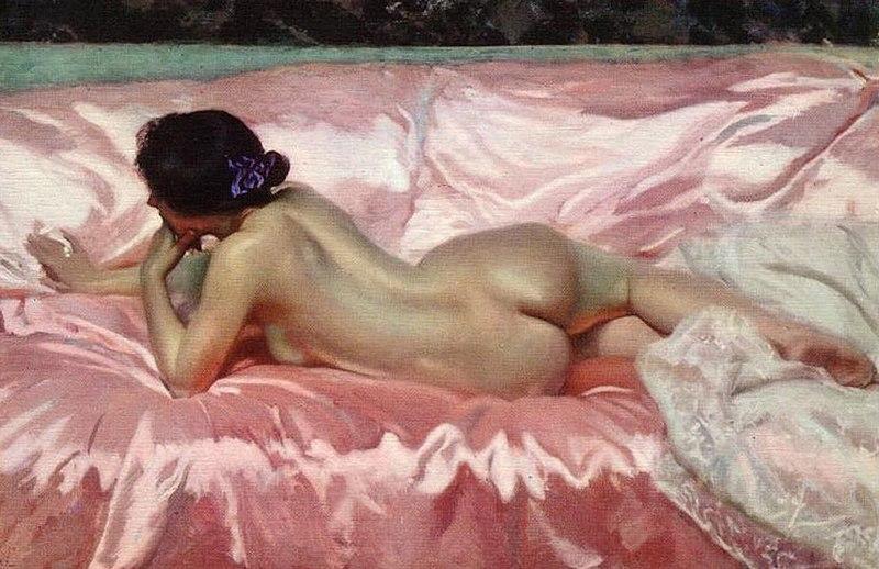 Archivo:Desnudo de mujer - Joaquín Sorolla - 1902.jpg
