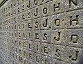 Detail of Gravestone of John Renie in Churchyard of Church of St. Mary.jpg